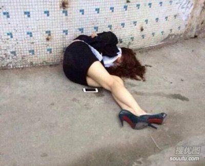 女神醉后也是这样!