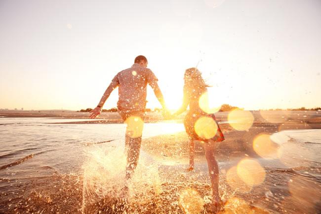 浪漫唯美的情侣图片 相信我们一定会幸福